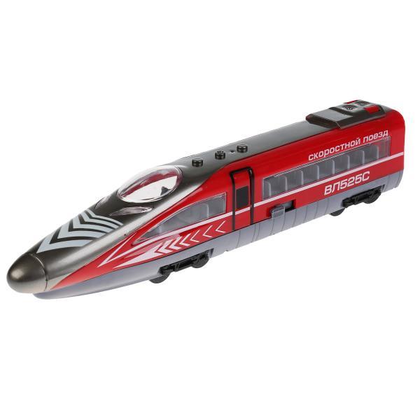 Купить Скоростной поезд, 26, 5 см, открываются двери, свет и звук, Технопарк