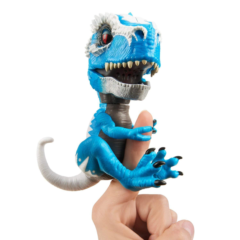 Купить Интерактивный динозавр Айронджо из серии Fingerlings, 12 см., WowWee