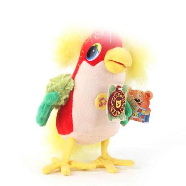 Озвученная мягкая игрушка – Попугай из мультфильма - 38 попугаев, 20 смГоворящие игрушки<br>Озвученная мягкая игрушка – Попугай из мультфильма - 38 попугаев, 20 см<br>