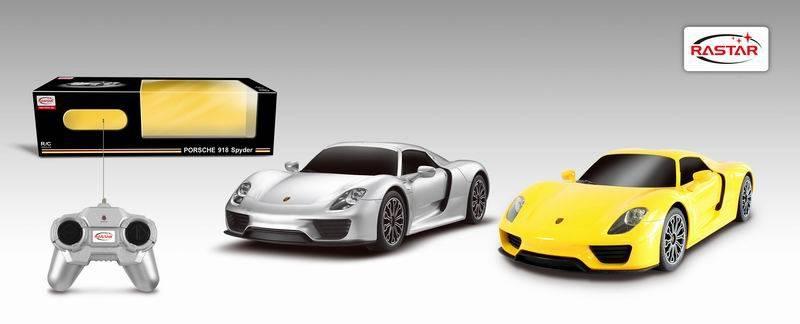 Радиоуправляемая машина Porsche 918 SpyderМашины на р/у<br>Радиоуправляемая машина Porsche 918 Spyder<br>
