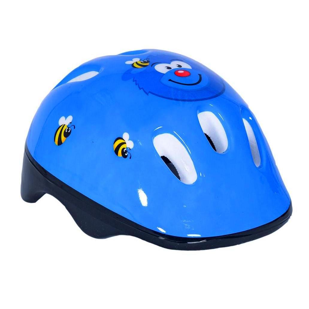 Купить Шлем велосипедный 172080 VLM1 Velolider, дизайн – Мишка, цвет – синий