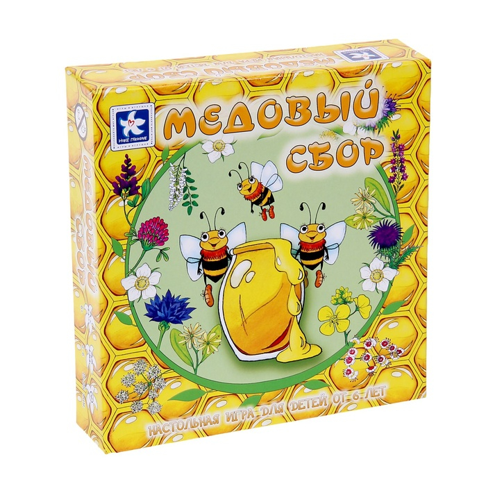 Игра настольная «Медовый сбор»Развивающие<br>Игра настольная «Медовый сбор»<br>