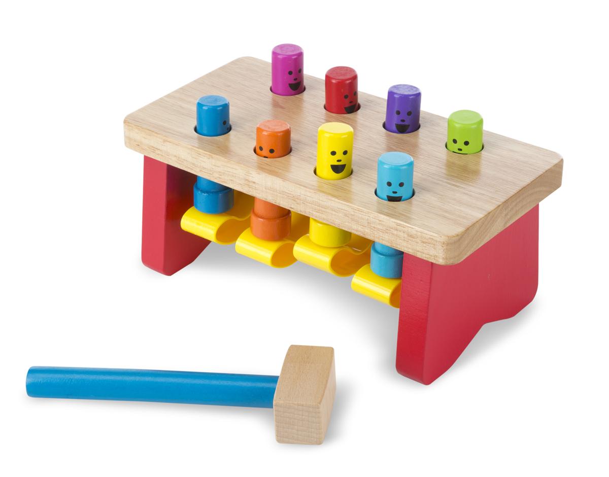 Игра «Забить в лунки Deluxe» из серии Классические игрушкиСтучалки и сортеры<br>Игра «Забить в лунки Deluxe» из серии Классические игрушки<br>