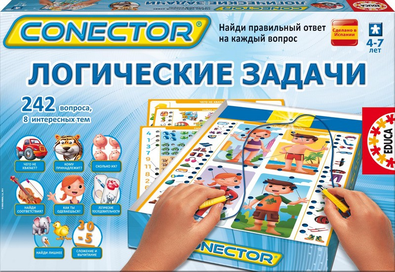 Электровикторина. Логические задачи - Подготовка к школе, артикул: 102261