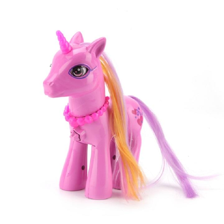 Пони озвученная, 15 см., светится рог, расческа в комплектеМоя маленькая пони (My Little Pony)<br>Пони озвученная, 15 см., светится рог, расческа в комплекте<br>