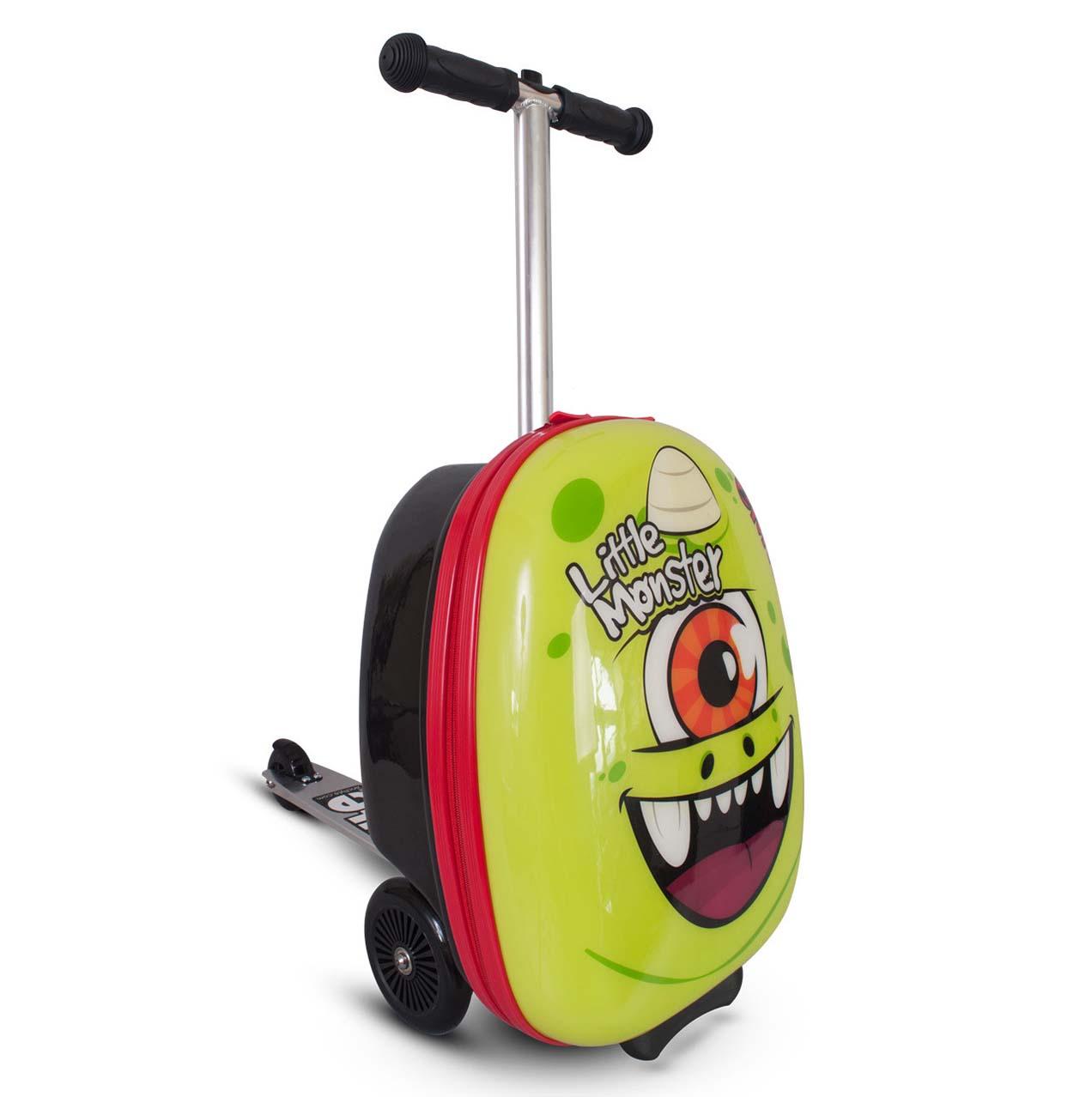 Самокат-чемодан - Monster