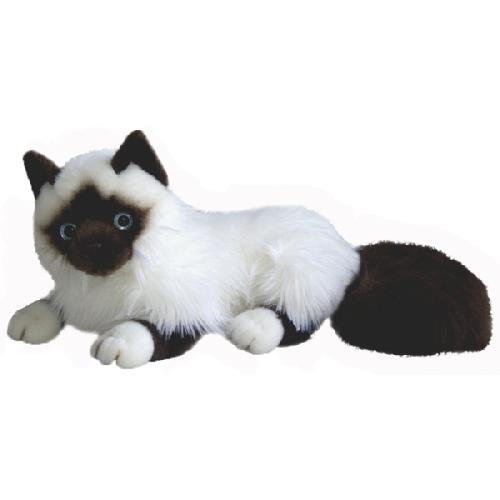 Кошка сиамская 45см - Коты, артикул: 24984