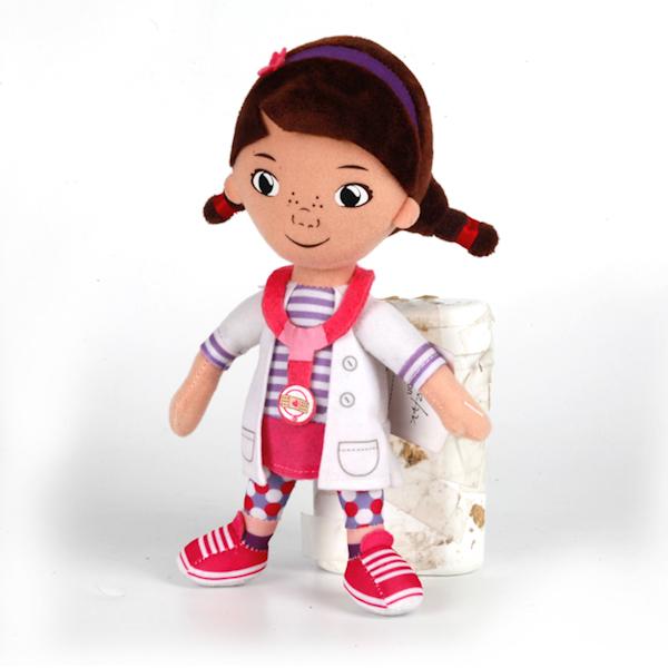 Мягкая игрушка «Disney Доктор Плюшева», озвученнаяГоворящие игрушки<br>Мягкая игрушка «Disney Доктор Плюшева», озвученная<br>