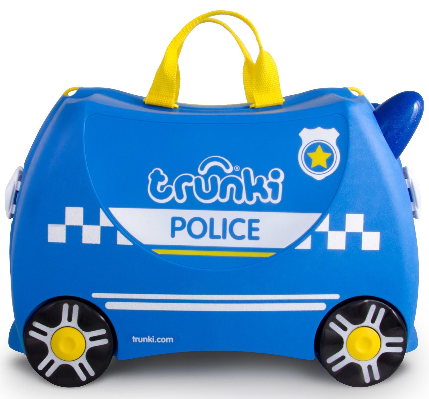 Детский чемодан на колесиках – Полицейская машина Перси фото