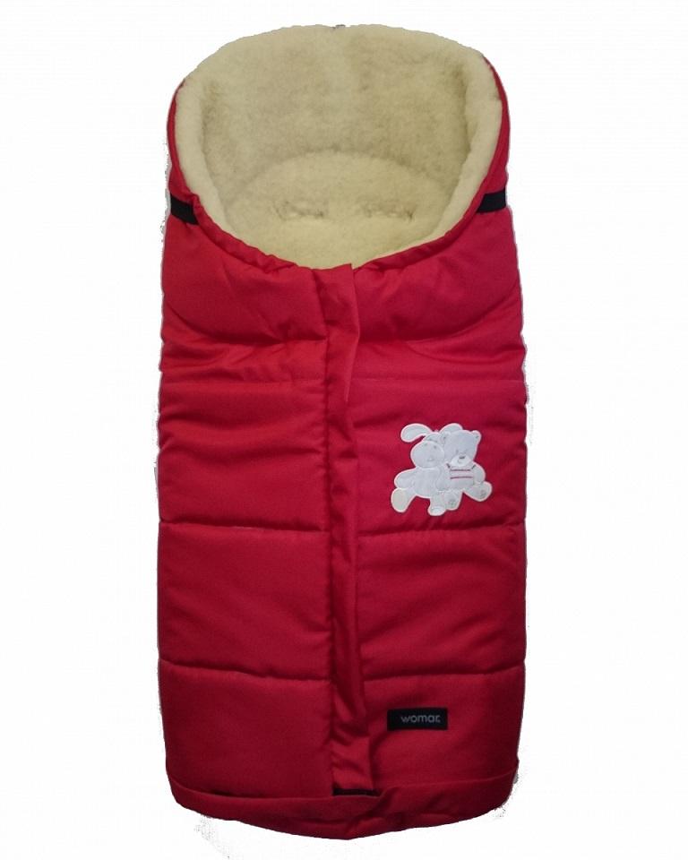 Спальный мешок в коляску №12 из серии Wintry, цвет  красный - Прогулки и путешествия, артикул: 171092