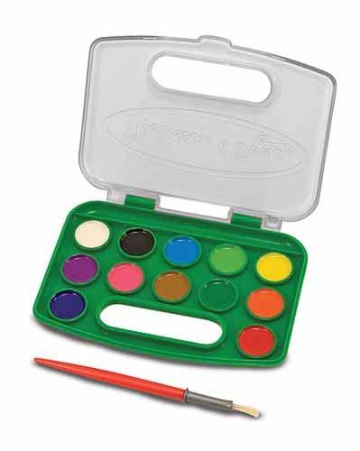 Набор красок Возьми с собой, 12 цветовКраски<br>Набор красок Возьми с собой, 12 цветов<br>