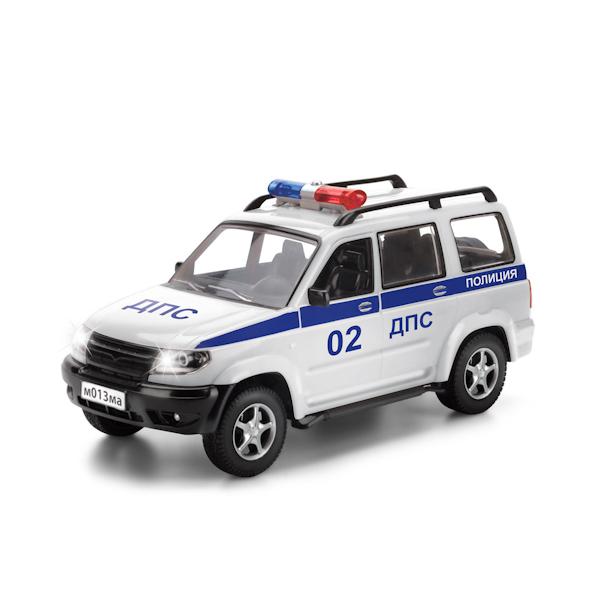 Инерционная машина Внедорожник - Полиция, свет, звукПолицейские машины<br>Инерционная машина Внедорожник - Полиция, свет, звук<br>