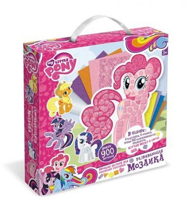 Мозаика-набор для малышей. My little ponyМоя маленькая пони (My Little Pony)<br>Мозаика-набор для малышей. My little pony<br>