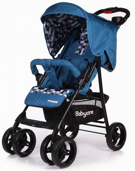 Купить Коляска прогулочная Voyager, синяя, Baby Care