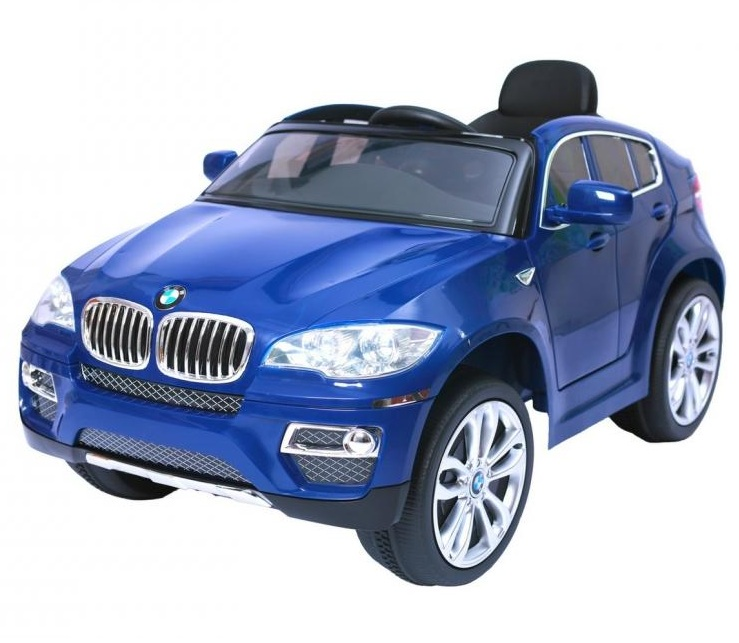 Электромобиль RT 258 - BMW X6 12V R/C blue
