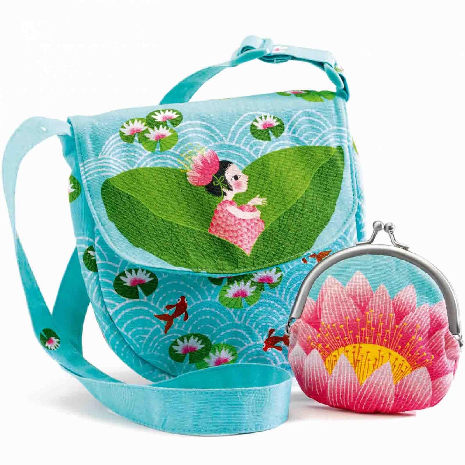Сумка и кошелек - КувшинкаДетские сумочки<br>Сумка и кошелек - Кувшинка<br>