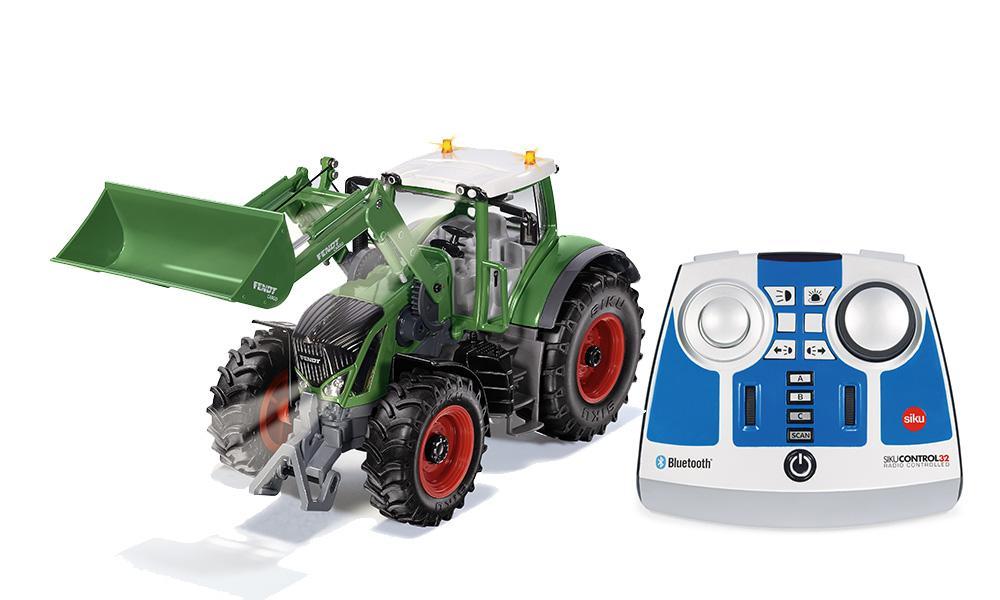 Трактор Fendt 933 Vario, с пультом, свет фото