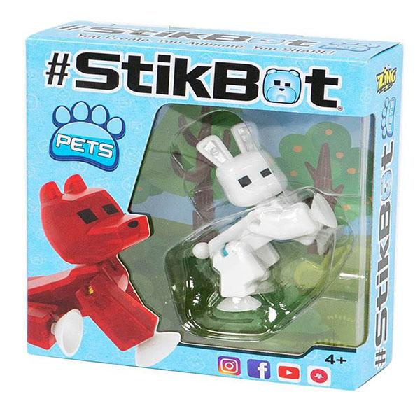 Купить Игрушка Stikbot - Фигурка питомца, 6 видов, Zing