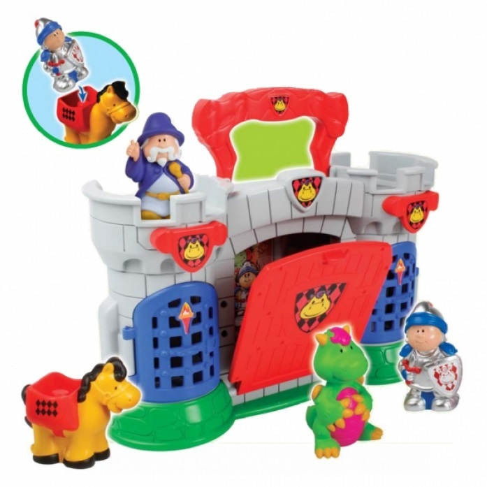 Игровой набор - Замок весельяЗамки, рыцари, крепости, пираты<br>Игровой набор - Замок веселья<br>