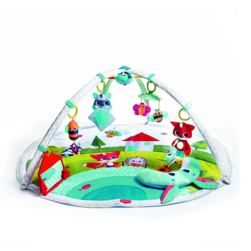 Развивающий коврик  Солнечная полянка - Детские развивающие коврики для новорожденных, артикул: 169004
