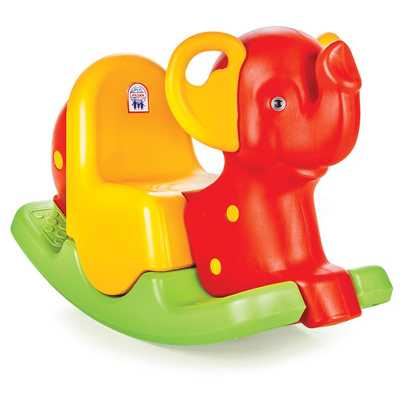 Качалка Слон с ручкамиДетские кресла-качалки<br>Качалка Слон с ручками<br>