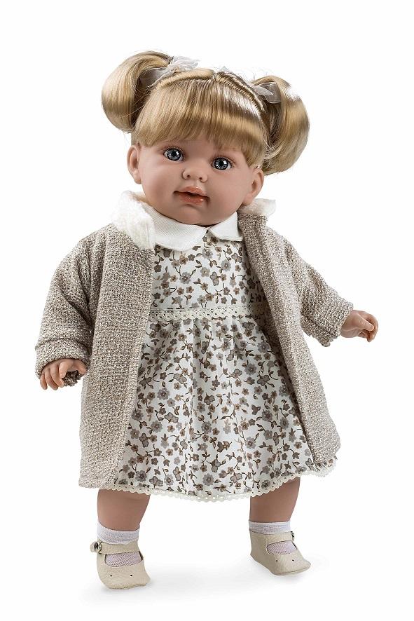 Купить Мягкая кукла в одежде - девочка с соской из серии Arias Elegance, 42 см., звук смеха