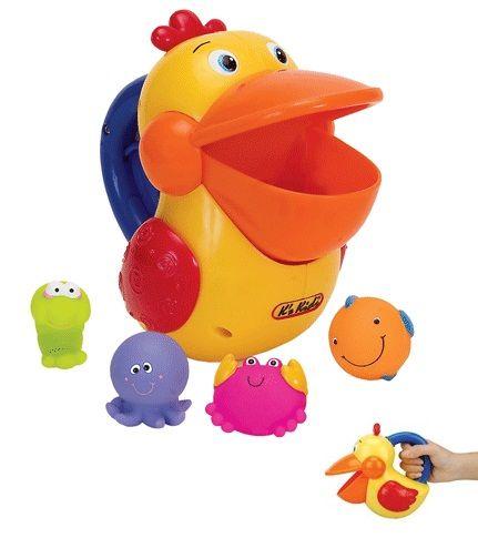 Игрушка для купания Голодный пеликанИгрушки для ванной<br>Увлекательные игрушки для купания в ванной или просто для игры в воде для малышей от 12 месяцев.<br>С этими потешными игрушками из яркого разноцветного пластика купания в ванной будут сплошным удовольствием, они превратятся в увлекательную игру...<br>