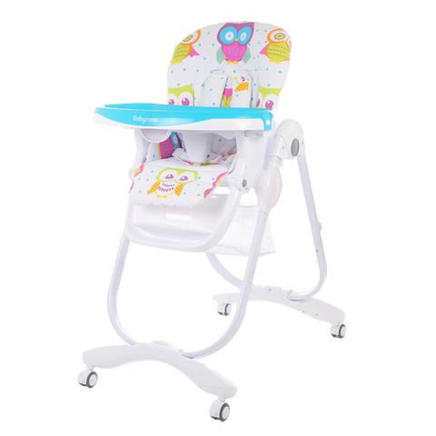 Купить Детский стульчик для кормления Baby Care – Trona, синий