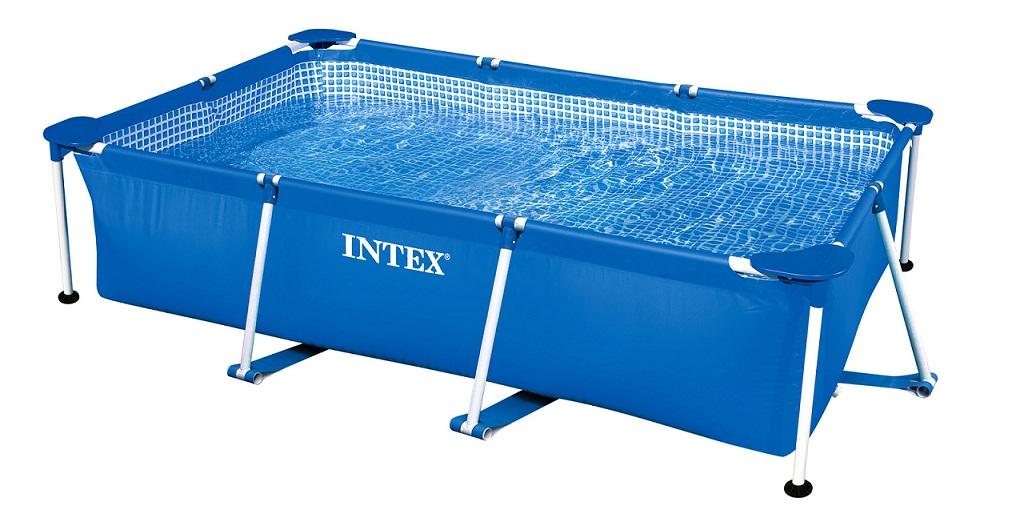 Intex Бассейн каркасный - Rectangular Frame, прямоугольный