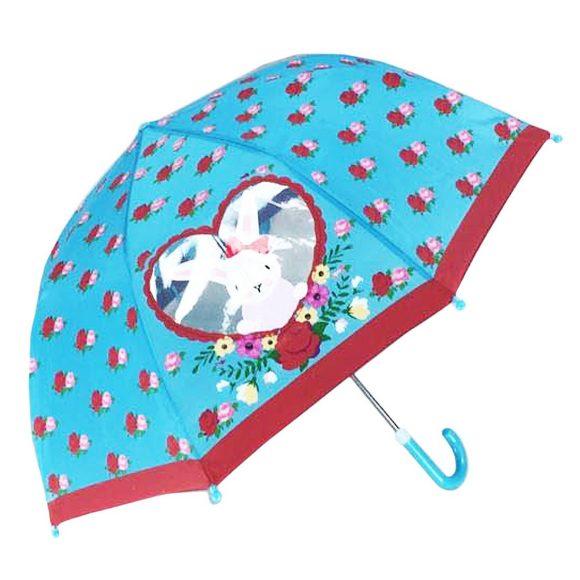 Зонт детский c окошком Rose Bunny, 46 см., коллекция Lady MaryДетские зонты<br>Зонт детский c окошком Rose Bunny, 46 см., коллекция Lady Mary<br>