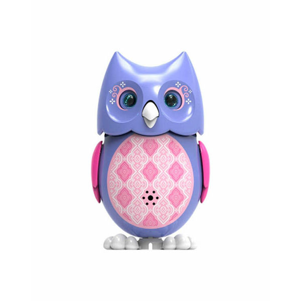Сова с кольцом, сиреневая с розовыми крыльями - Интерактивные птички DigiBirds, артикул: 141720