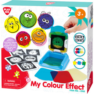 Развивающая игрушка - Цветовые эффектыРазвивающие игрушки PlayGo<br>Развивающая игрушка - Цветовые эффекты<br>