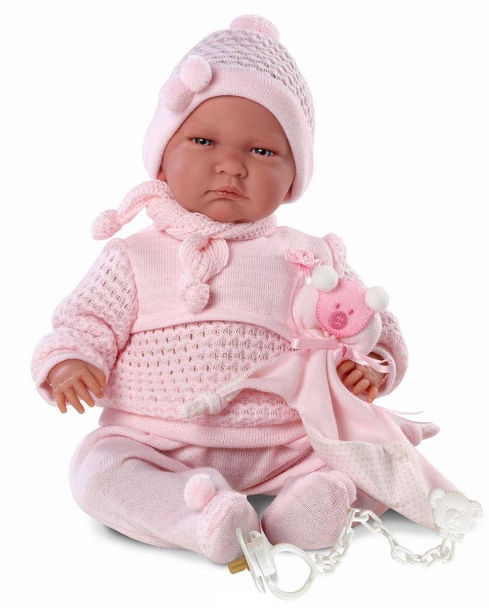 Кукла Лала с пустышкой, 40 см., со звукомИспанские куклы Llorens Juan, S.L.<br>Кукла Лала с пустышкой, 40 см., со звуком<br>