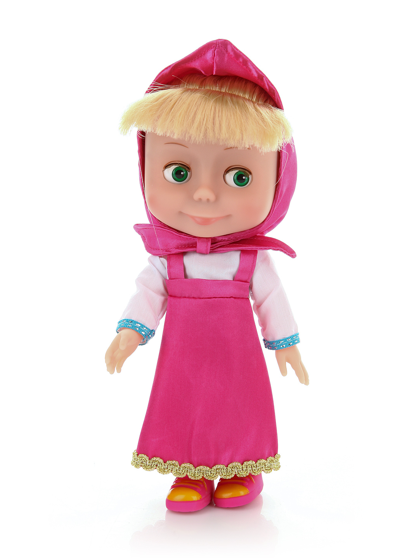 Кукла Маши из м/ф «Маша и медведь», говорит 100 фраз, поетМаша и медведь игрушки<br>Кукла Маши из м/ф «Маша и медведь», говорит 100 фраз, поет<br>