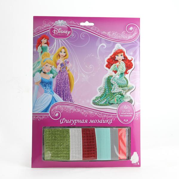 Фигурная мозаика «Принцессы Дисней»Ариэль<br>Фигурная мозаика «Принцессы Дисней»<br>
