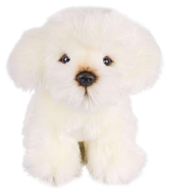 Мягкая игрушка - Щенок Болонка, 18 см.Собаки<br>Мягкая игрушка - Щенок Болонка, 18 см.<br>