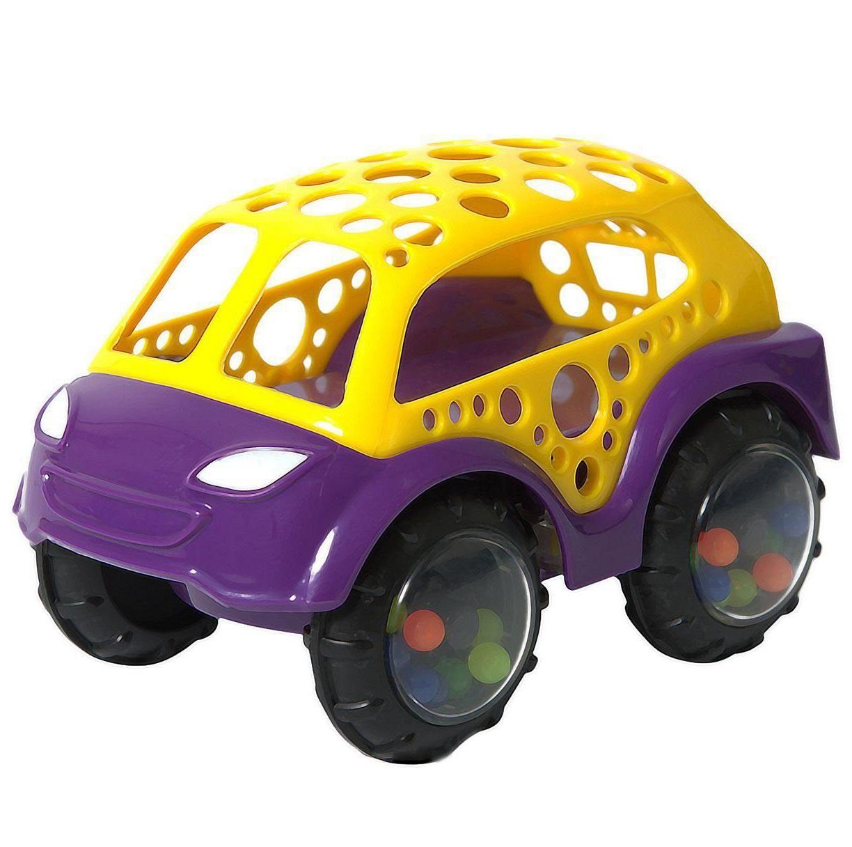 Машинка-неразбивайка, желто-фиолетоваяМашинки для малышей<br>Машинка-неразбивайка, желто-фиолетовая<br>