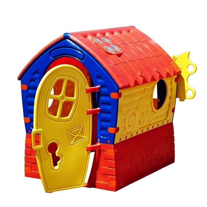 Детский игровой домик. ЛилипутПластиковые домики для дачи<br>Детский игровой домик. Лилипут<br>