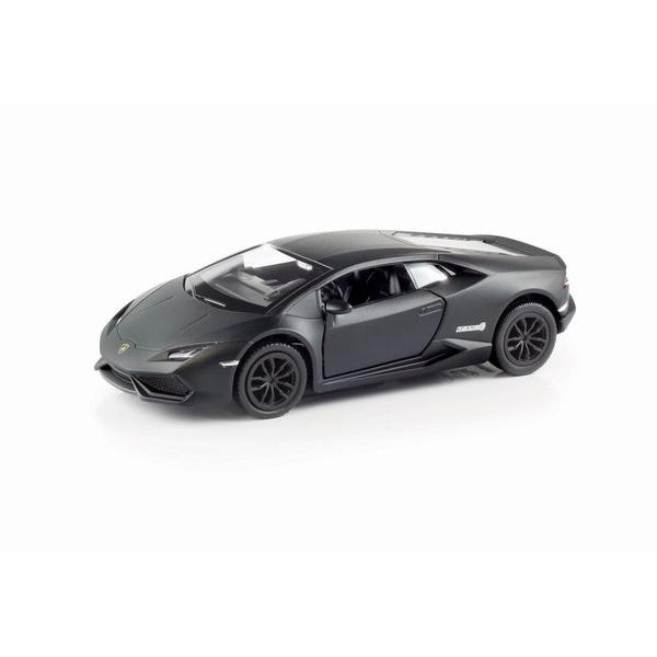 Металлическая инерционная машина RMZ City - Lamborghini Huracan, 1:32, черный матовыйLamborghini<br>Металлическая инерционная машина RMZ City - Lamborghini Huracan, 1:32, черный матовый<br>