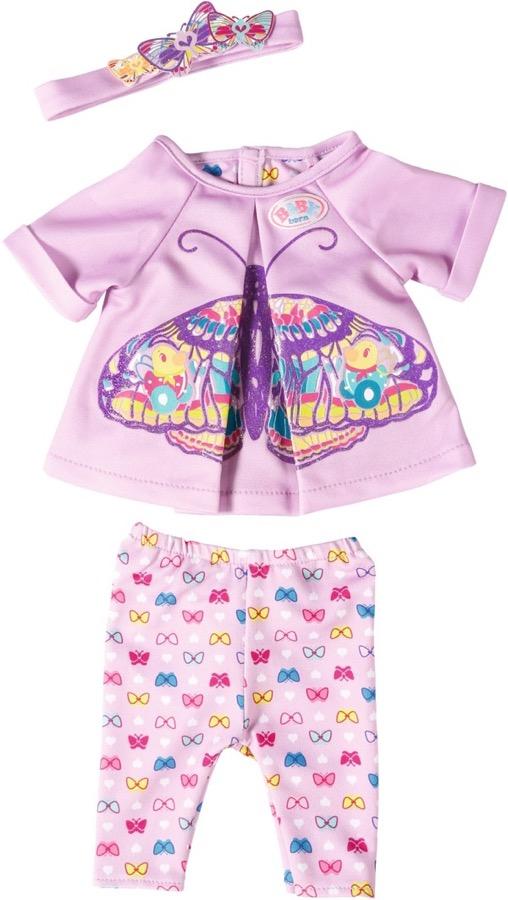 Удобная одежда для дома для куклы Baby Born, с вешалкойОдежда Baby Born <br>Удобная одежда для дома для куклы Baby Born, с вешалкой<br>