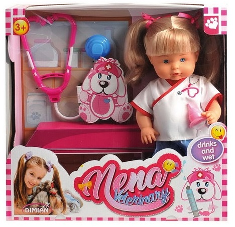 Кукла из серии Baby Nena - Ветеринар, 36 смПупсы<br>Кукла из серии Baby Nena - Ветеринар, 36 см<br>