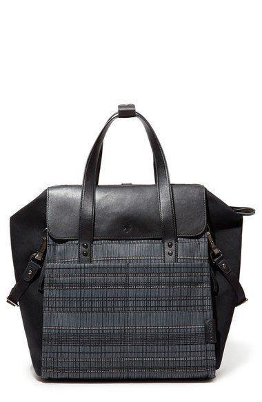 Сумка-рюкзак для мамы 3 в 1 - Черный Гранит от Toyway