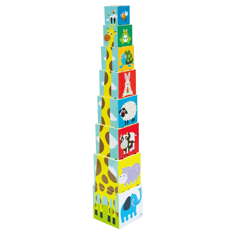 Купить Развивающая игрушка - Складные кубики, Little Hero