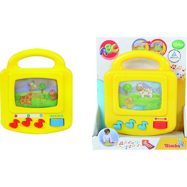 Музыкальный телевизор, звукРазвивающие игрушки Simba Baby<br>Музыкальный телевизор, звук<br>
