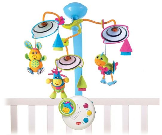 Компактный классический мобиль - Мобили и музыкальные карусели на кроватку, игрушки для сна, артикул: 95273