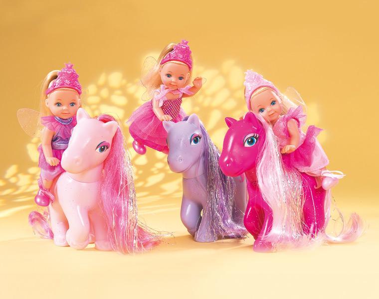 Кукла Еви + пони
