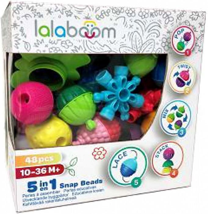 Игрушка развивающая - Lalaboom, 48 предметов