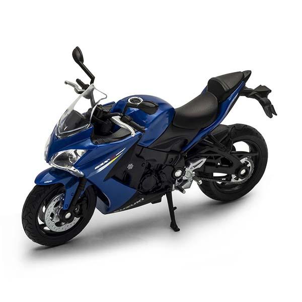Купить Игрушка модель мотоцикла 1:18 Suzuki GSX S1000F, Welly