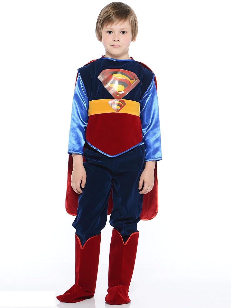 Костюм карнавальный - Супермен, размер 32Карнавальные костюмы<br>Костюм карнавальный - Супермен, размер 32<br>