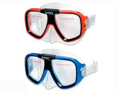 Купить Маски для плавания Reef Rider, Intex